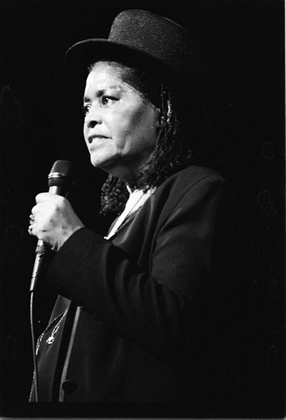 Abbey Lincoln, Foto by Roland Godefroy