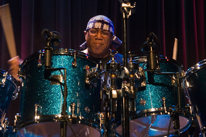Billy Cobham, Photo by Rey Alvarado