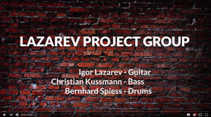 JazzrockTV #127 – Jam In The Basement – LAZAREV PROJECT GROU