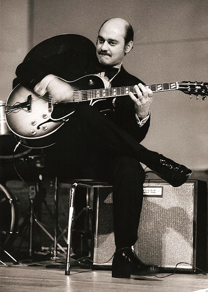Joe Pass, Foto: Hans Bernhard