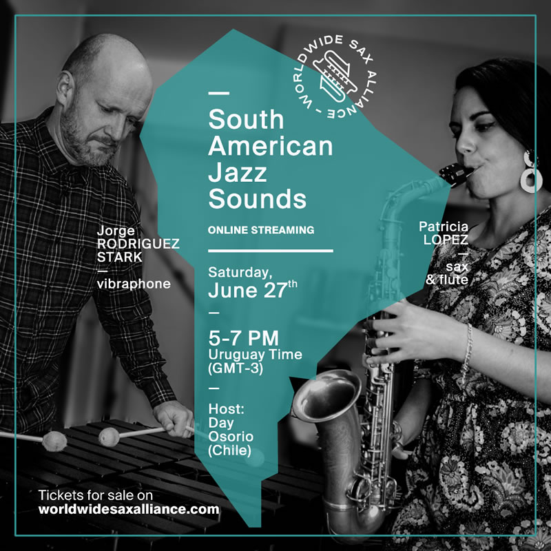 The Worldwide Sax Alliance - South American Jazz Sounds