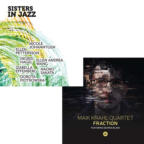 Doppelte Verlosung - 3 x CD Sisters in Jazz / Maik Krahl Quartet - Fraction